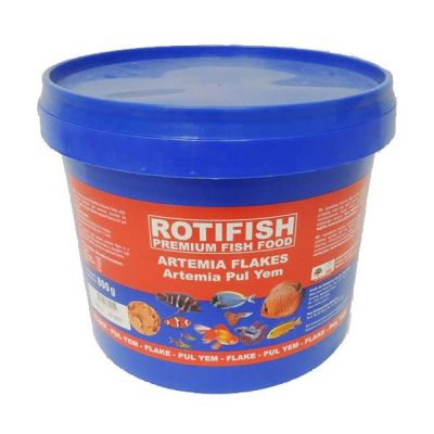 Rotifish Artemia Pul Yem 750 Gr. Kova