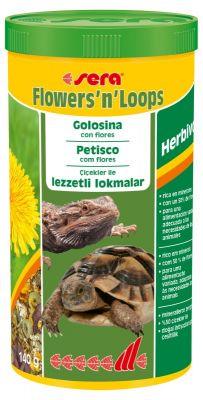 Sera Flowers n Loops 1000 ML Kaplumbağa Yemi