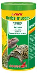 Sera - Sera Herbs n Loops 1000 ML Kaplumbağa Yemi