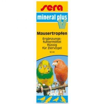 Sera Mineral Plus V Kuşlar İçin Vitamin 50 ml