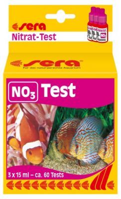 Sera NO3 Test Nitrat Testi 60 Ölçüm 3x15 ml