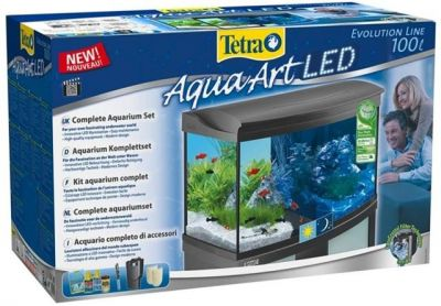 Tetra Aquaart 100 L LED Cam Akvaryum