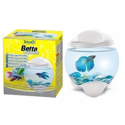 Tetra - Tetra Betta Bubble Beyaz Fanus Led Lambalı