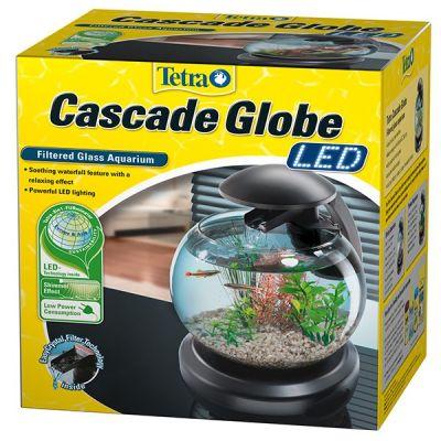 Tetra Cascade Globe Siyah Filtreli Fanus 6.8 LT