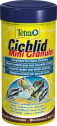 Tetra - Tetra Cichlid Mini Granules Balık Yemi 250 ML
