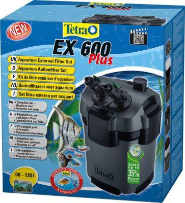 Tetra EX 600 Plus Dış Filtre 600Lt/Saat (Tam Dolu)