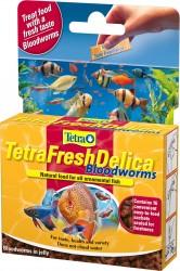 Tetra - Tetra Fresh Delica BloodWorms Kankurdu 48 Gr.