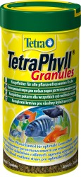 Tetra - Tetra Phyll Bitkisel Granül Yem 250 ML