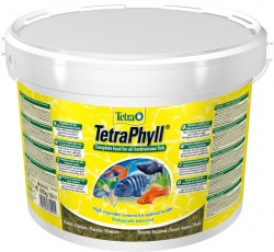 Tetra - Tetra Phyll Bitkisel Pul Yem 10 Lt / 2050 Gr.