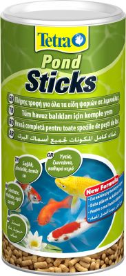 Tetra Pond Sticks Yeşil Japon Yemi 100 Gr.