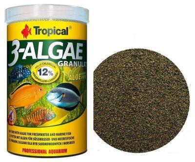 Tropical 3-Algae Granulat 500 Gram