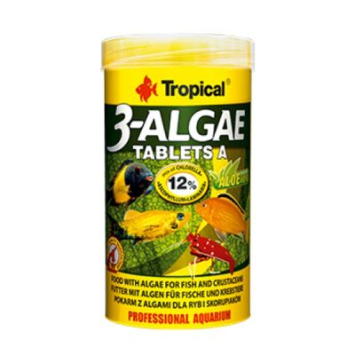 Tropical 3-Algae Tablets A 250 Gram