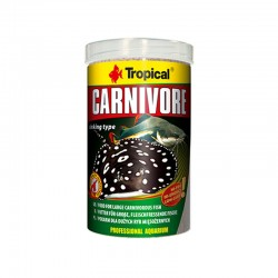 Tropical - Tropical Carnivore Tablet Yem 1000Ml/600Gr.