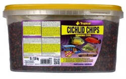 Tropical - Tropical Cichlid Chips 5 Lt / 2600 Gram