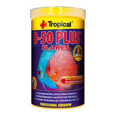 Tropical Discus D-50 Plus Pul Yem 100 Gr.