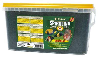 Tropical Super Spirulina Forte Granulat 5 Lt / 3000 Gr