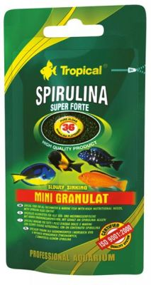 Tropical Super Spirulina Forte Mini Gran 100 Gram