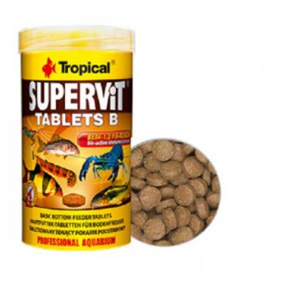Tropical Supervit (SuperTabin) B Tablet 50ML/200 Tablet