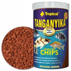 Tropical - Tropical Tanganyika Chips 100 Gr.