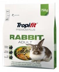 Tropifit - Tropifit Premium Plus Yetişkin Tavşan Yemi 750 Gram