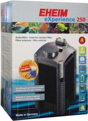 Eheim Experience 250 (2424) Akvaryum Dış Filtre Dolu+Media