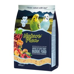 Nature Plan - Nature Plan Kabuksuz Muhabbet Kuşu Yemi 400 Gr.