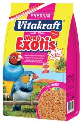 Vitakraft - Vitakraft Menü Premium Egzotik Finch Kuş Yemi 12x500 Gr.