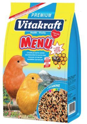 Vitakraft Menü Premium Kanarya Kuş Yemi 12x500 Gr.