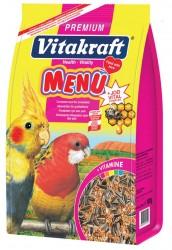 Vitakraft - Vitakraft Menü Premium Paraket Yemi 5x1000 Gr.