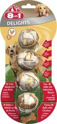 8in1 - 8in1 Delight Balls Small Tavuklu Köpek Ödülü