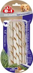8in1 - 8in1 Delight Twisted Sticks Biftekli Köpek Ödülü