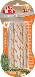 8in1 - 8in1 Delight Twisted Sticks Tavuklu Köpek Ödülü