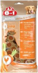8in1 - 8in1 Minis Chicken Carrot Köpek Ödülü 100 Gram