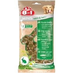 8in1 - 8in1 Minis Rabbit Herbs Köpek Ödülü 100 Gram