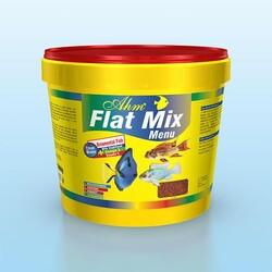 Ahm Marin - Ahm Flat Mix Menü Balık Yemi 3000 Gr / Kova