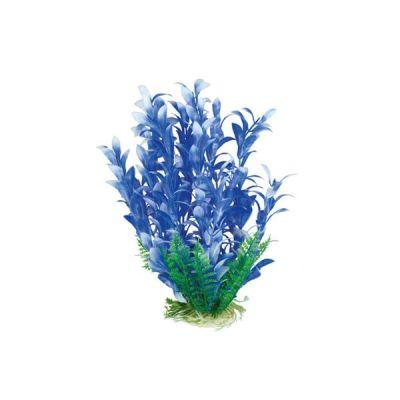 Akvaryum Beyaz Mor Plastik Bitki 20-25 Cm