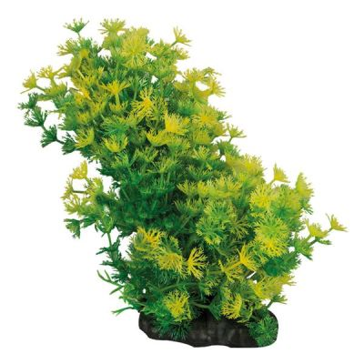 Akvaryum İçin Sarı Plastik Bitki 8-10 cm