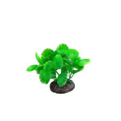 Akvaryum Plastik Yeşil Diken Yapraklı Bitki 8 Cm