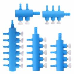Sobo - Ayarlanabilir Akvaryum Plastik Hava Dağıtıcı 6 Çıkışlı