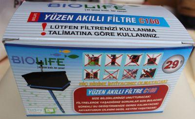 Biolife Yüzen Akıllı Filtre C160