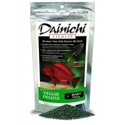 Dainichi - Dainichi Cichlid Veggie Deluxe Baby 1mm 2500 Gr.