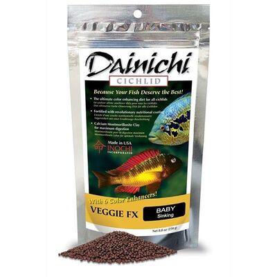 Dainichi Cichlid Veggie Fx Baby 1mm 100 Gr.
