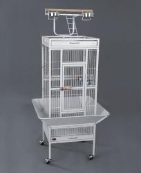 Dayang - Dayang Ayaklı Papağan Kafesi 46x46x156 cm