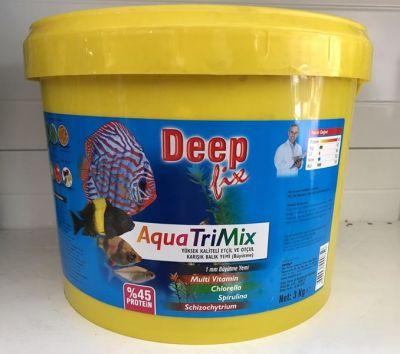 Deep Fix Aqua Trimix Etçil Otçul Karışık Yem 3000 Gram