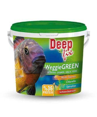 Deep Fix Weggie Green Bitkisel Granül Balık Yemi 2750 Gram