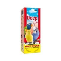 Deep - Deep Multisol Kuşlar İçin Multivitamin 30 ML