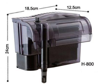 Dolphin H800 Askı Şelale Filtre 1000 L/H