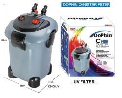 Dophin - Dophin C2400U Uv li Akvaryum Dış Filtre 3000 L/S