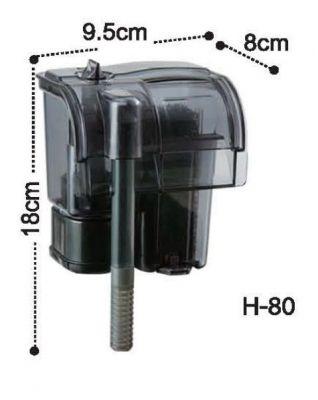Dophin H80 Askı Şelale Filtre 150 L/H