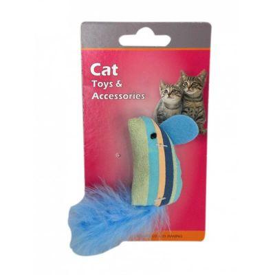 Eastland Hışırtılı Tüylü Kedi Oyuncağı 13 cm